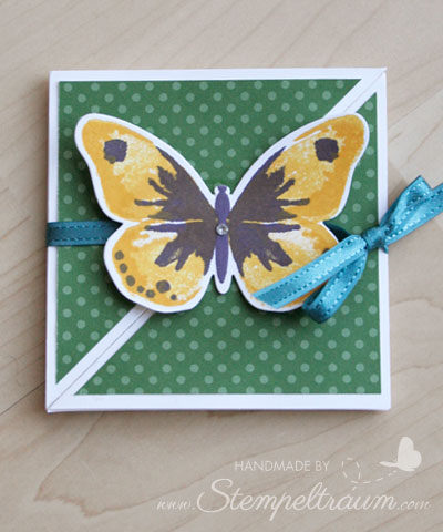 Stampinup, Triangle Trifold Card