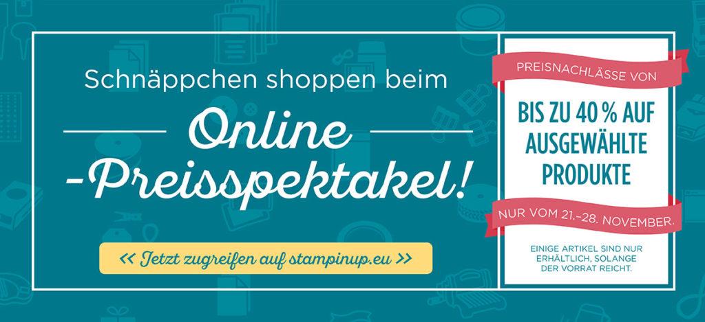 Online Preisspektakel