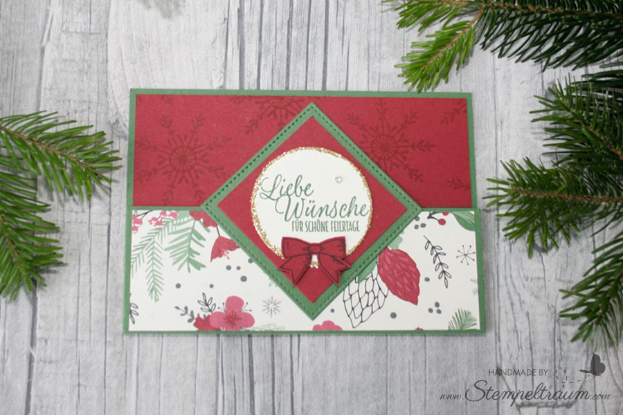stampinup Dutch Door Style Card