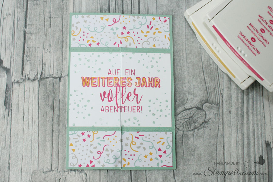 Stampin up Endloskarte