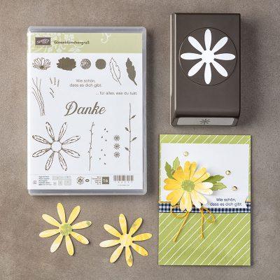 Produktpaket Gänseblümchengruß