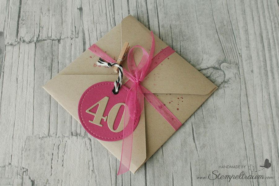 Stampin Up Geburtstagskarte
