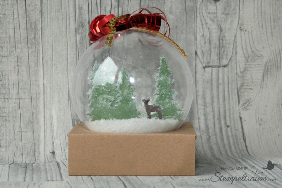 Weihnachtskugel Festtagsdesign