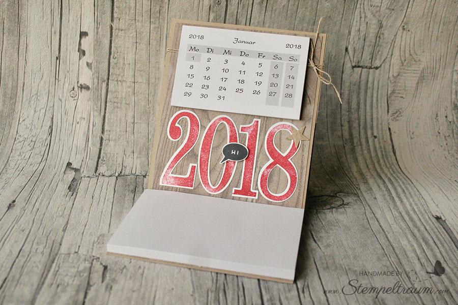 Kalender zum Aufstellen