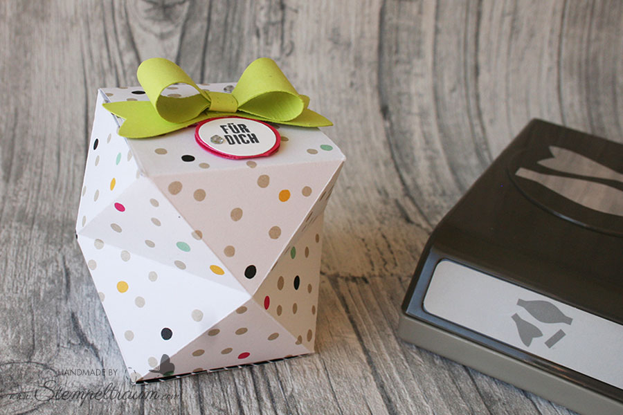 Facettenbox mit Produkten von Stampin´Up!