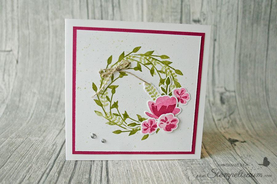 Blumenkarte zum Muttertag