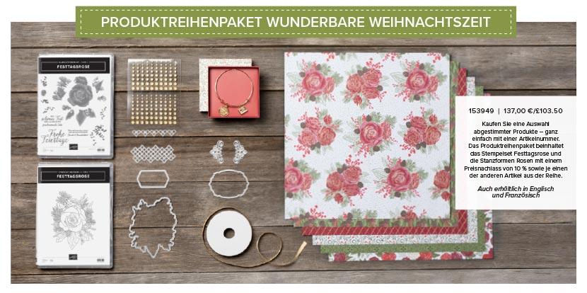 Produktreihe Wunderbare Weihnachtszeit von Stampin´Up!